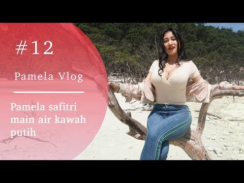 #PAMELAVLOG12 - PAMELA SAFITRI MAIN AIR KAWAH PUTIH