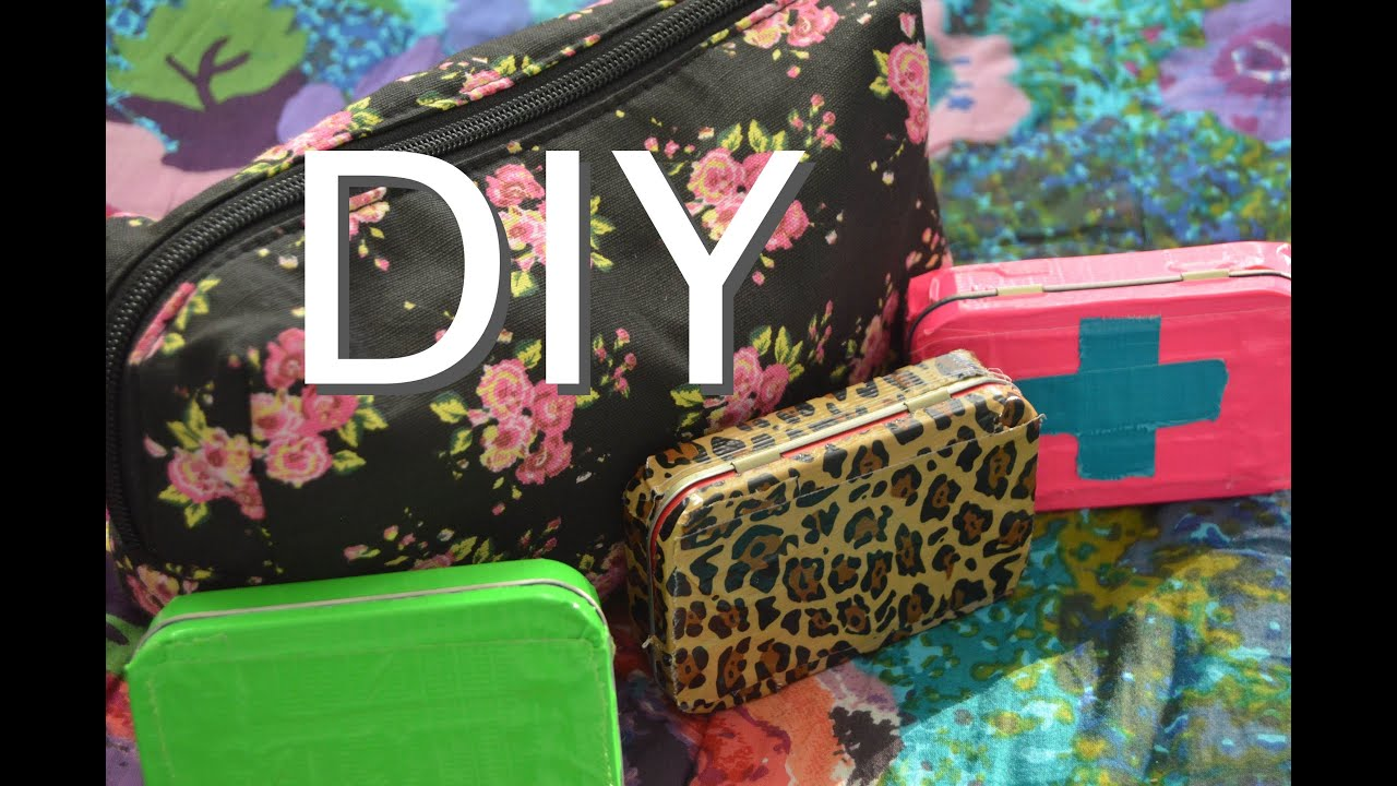Locker Essentials Bag Diy Emergency Kit