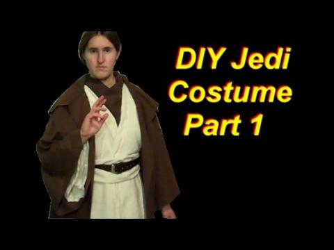 Diy Jedi Costume Part 1 The Tunic