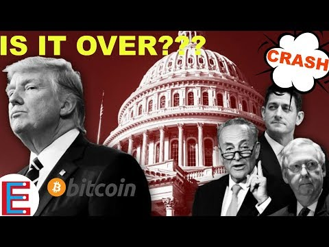 Is It Over For Bitcoin??? ( GOVERNMENT SHUTDOWN 2018 )