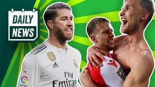 Union Berlin ist aufgestiegen! Ramos will Real Madrid verlassen! Freiburg, BVB & Mainz Transfers!
