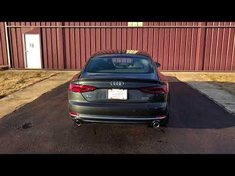 2018 Audi A5 Sportback Manhattan Grey Metallic