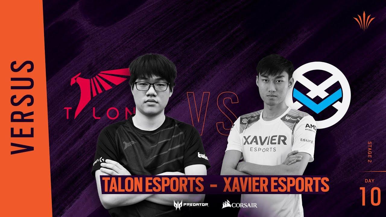 Talon Esports vs Xavier Esports // Rainbow Six APAC North Division 2020 - Stage 2 - Playday #10