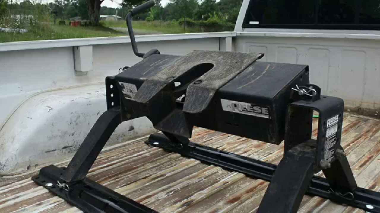 Types Of Trailer Hitches >> Fifth Wheel Hitch Installation. - YouTube