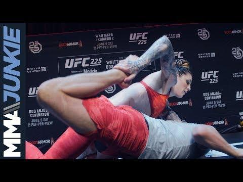 UFC 225: Megan Anderson open workout