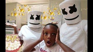 Magic Marshmallow Turned Super  Mom & Dad To Marshmallow