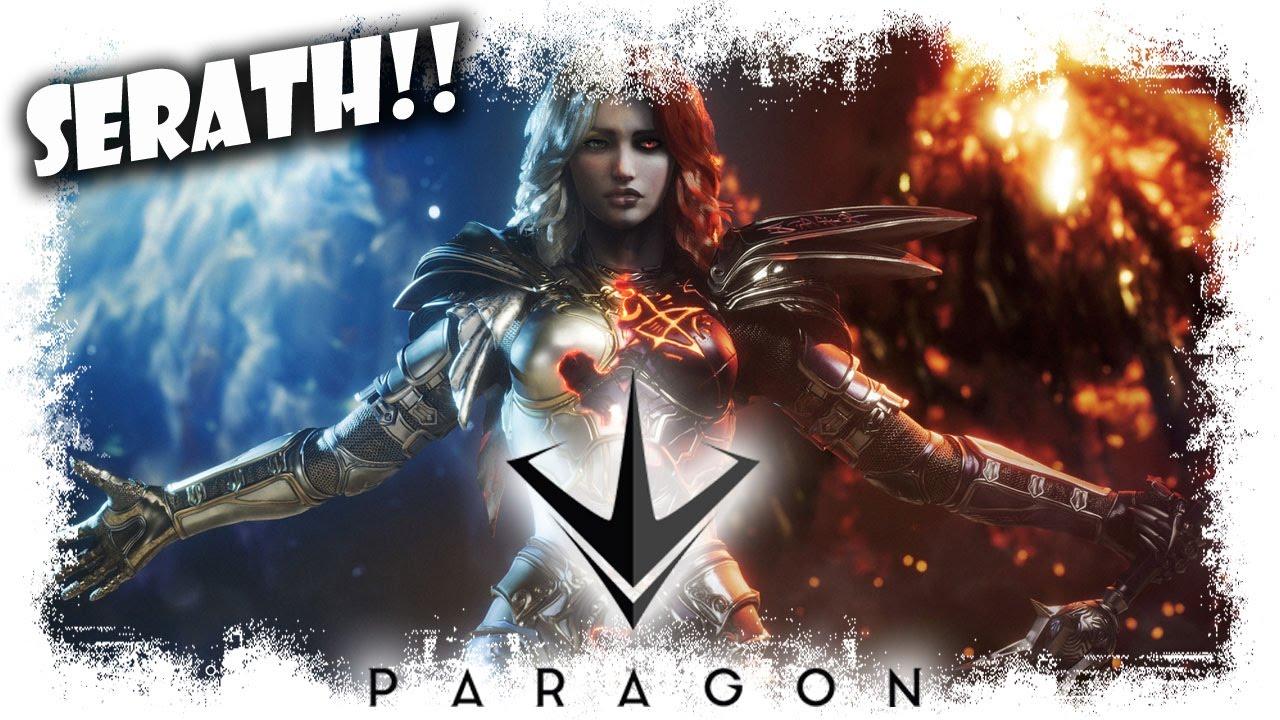 Paragon Español   Serath Nuevo campeón   mejor MOBA PC/PS4