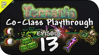 Terraria 1.3.3 | Crystal Serpent! Twins Battle! | Co-Class Let's Play w/ChippyGaming [#13]