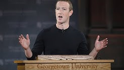 Watch live: Facebook CEO Zuckerberg speaks at Georgetown University