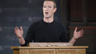 Watch live: Facebook CEO Zuckerberg speaks at Georgetown University