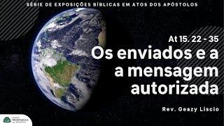 Culto Noturno   04/07/2021   Rev. Geazy Liscio