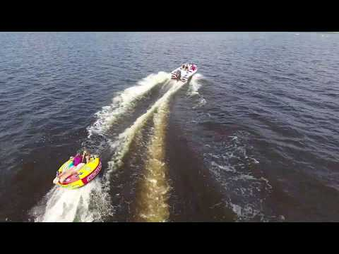 Dyna-Ski 20 Open Bow waterskiing