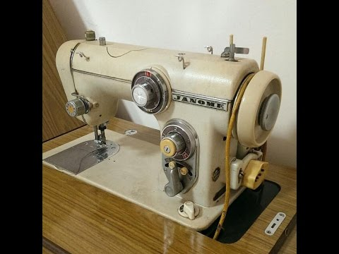 Vintage Janome 40 Sewing Machine 40's YouTube Beauteous Instruction Manual For Janome Sewing Machine