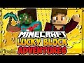 "LUCKY BLOCK ADVENTURES FINALE - ""The End!"" (Minecraft Lucky Block Survival)"