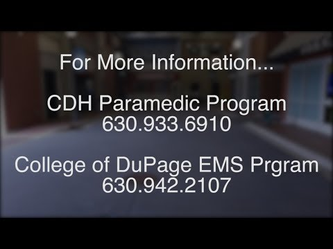 COD/CDH Mass Casualty Incident Drill at College of DuPage 2017