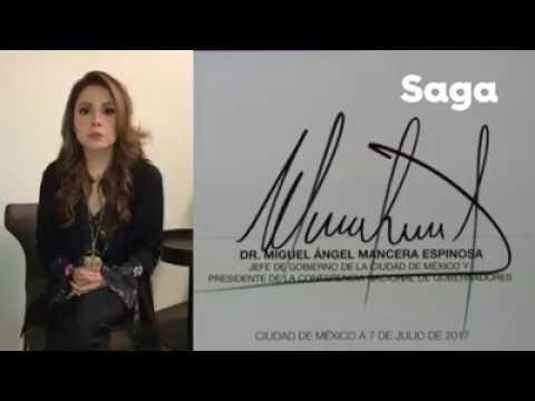 Maryfer Centeno analiza la firma de Miguel Ángel Mancera