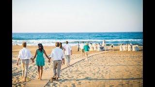 Свадьба на Крите на пляже Сергея и Анны