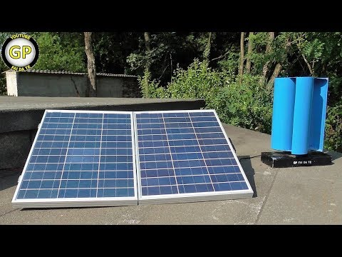 Make a Photovoltaic system and Wind Generator for Free Energy - Diy