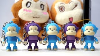 5 five little monkeys jumping on the bed   children nursery rhyme   the robot monkey