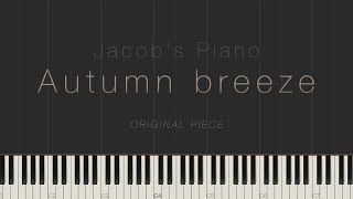 Autumn breeze - Jacob's Piano \\ Synthesia Piano Tutorial