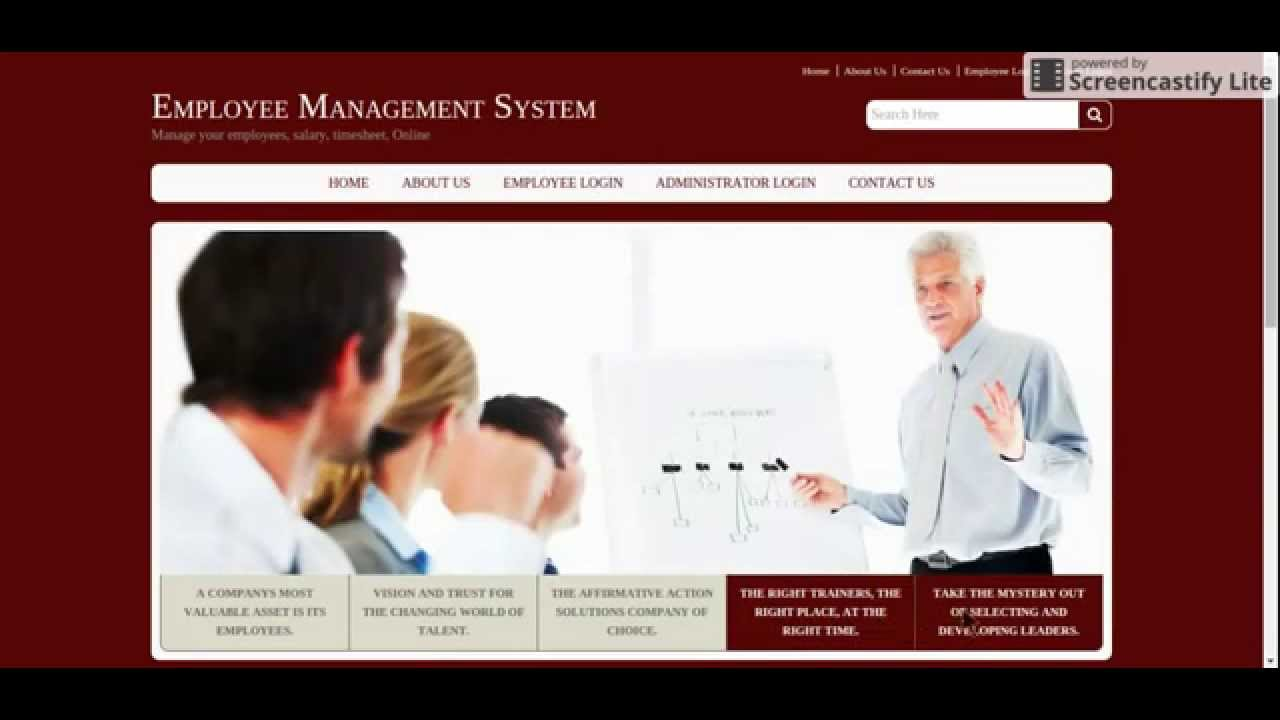 Employee portal system | Research paper Academic Writing Service