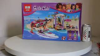 Mở hộp Lepin 01037 Lego Friends 41316 Andrea's Speedboat Transporter giá sốc rẻ nhất