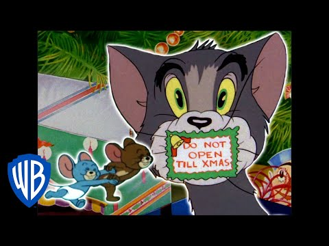 Tom & Jerry | Home for Christmas | Classic Cartoon Compilation | WB Kids