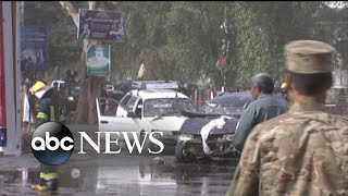 2 suicide bombings end 3 days of peace in Afghanistan