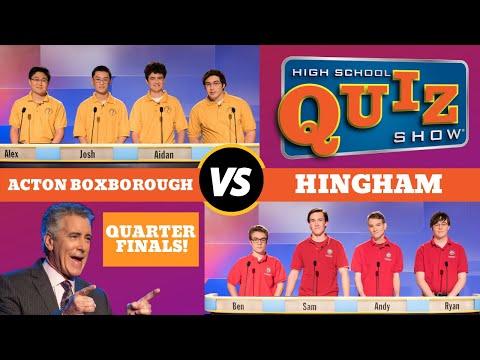 High School Quiz Show Quarterfinal #4: Acton-Boxborough vs. Hingham