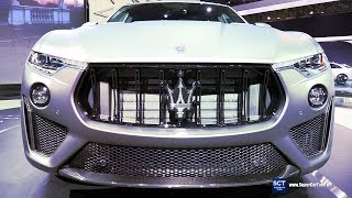 2019 Maserati Levante Trofeo V8 - Exterior Interior Walkaround & Engine - 2018 New York Auto Show