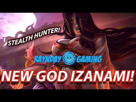 New God Izanami Ability Overview and Build Guide! BEST ASSASSIN EVER KAPPA (SMITE)