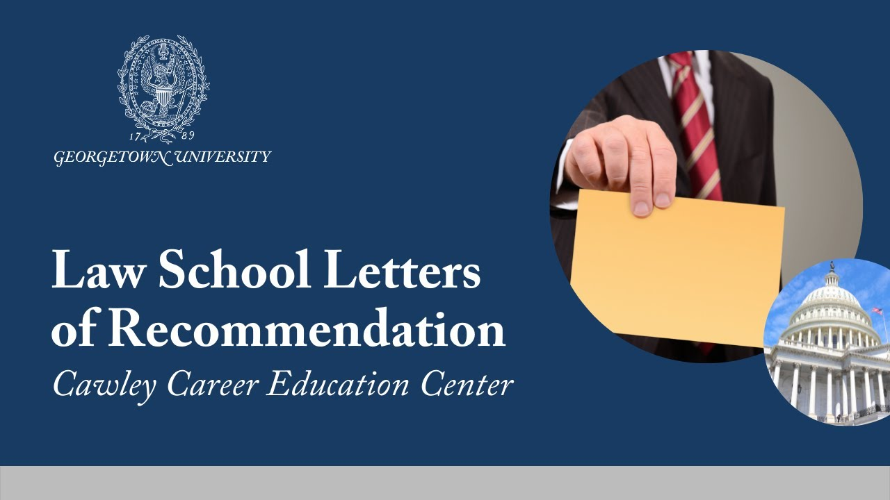 Law School Letters of Recommendation
