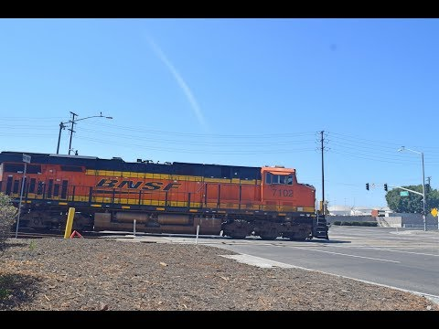 9-22-18!! Railfanning LB ports, Fullerton! Featuring PHL, leased units, BNSF 7102 and MORE!