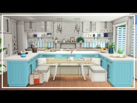 Big family kitchen sims 4 room build youtube for Sims 2 kitchen ideas