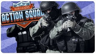SWAT TEAM is BACK, NEW DOOR KICKERS! - Door Kickers Action Squad Gameplay