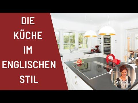 Die Küche Im Englischen Stil   Amerikanisches Holzhaus, Schwedenhaus,  Holzhaus, Landhaus, Villa