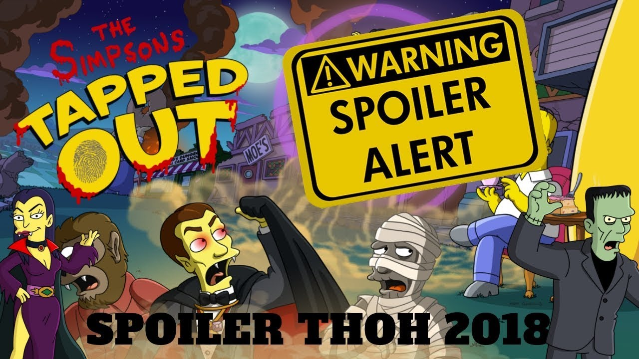 simpsons tapped out hack halloween 2018