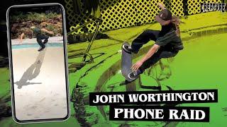 John Worthington's Phone Raid | Creature Skateboards