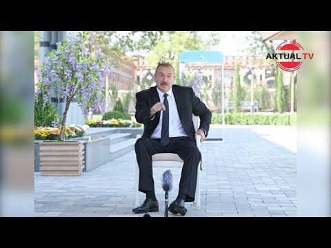Ильхам Алиев: «Если у Армении есть мужество, … А если нет, значит боитесь»