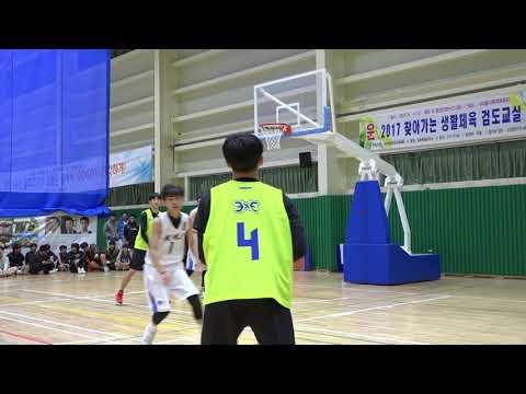 제주삼다수 3X3 BASKETBALL CHALLENGE 고등부 4강전 HES vs 상혁이따까리들 1