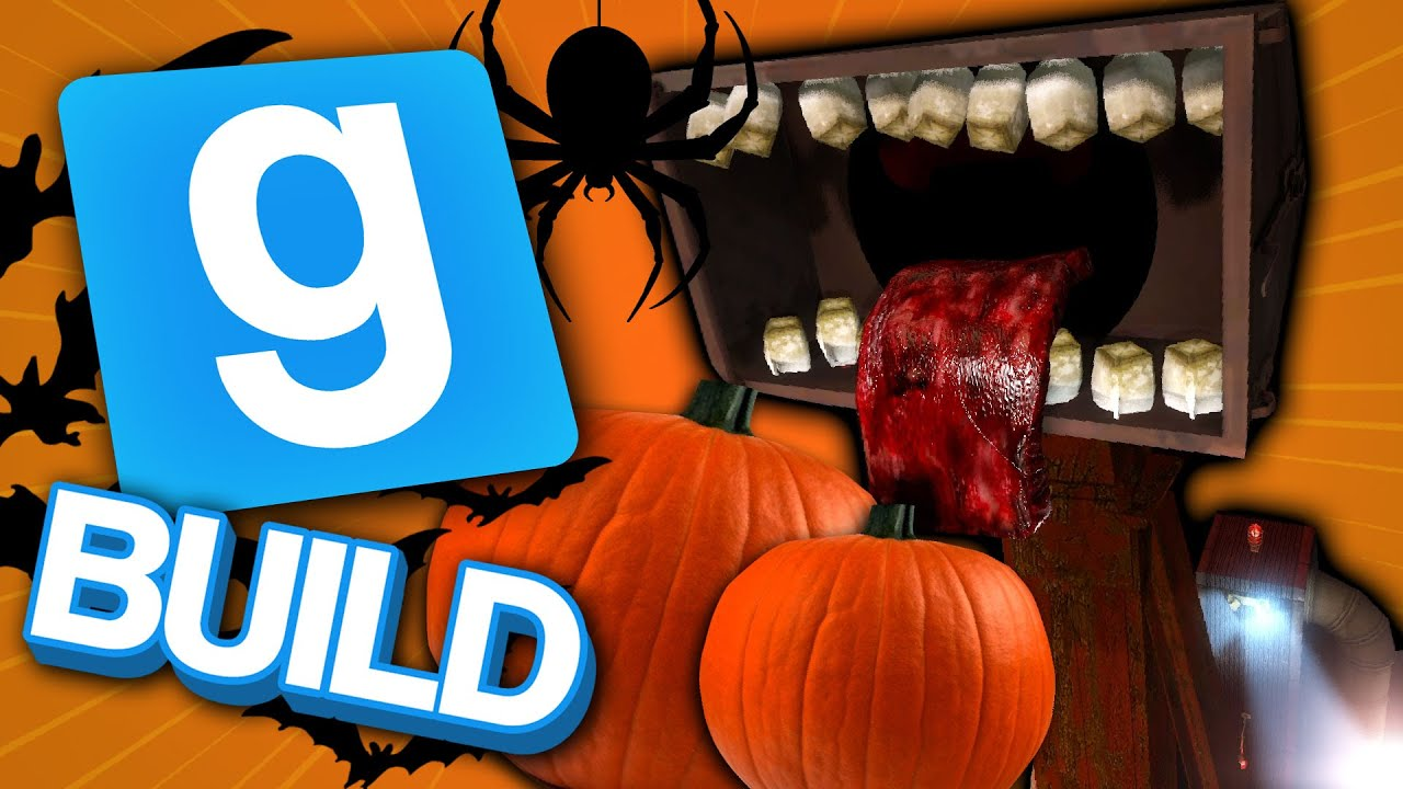 Is This The Next Siren Head? | Gmod Build Halloween Special