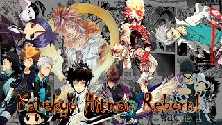 Обложка на видео о конец манги  Katekyo Hitman Reborn!/репетитор килер реборн [KHR] Часть 1. семья Шимон/Shimon