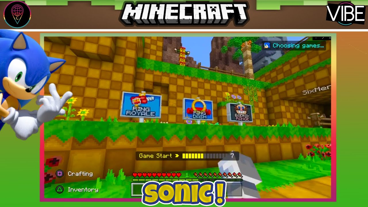 MINECRAFT SONIC GAMEPLAY (6)   WITH TAYLOR