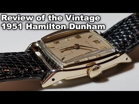 Review of the Vintage 1951 Hamilton Dunham Original Dial Serviced