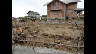 Fundatie casa cu demisol