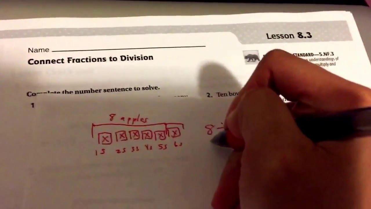 Go Math Lesson 8 3 Answers 5th Grade