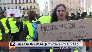 Violenta jornada de protestas en Francia