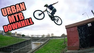URBAN MOUNTAIN BIKE DOWNHILL