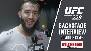 "UFC 229 - Dominick Reyes - ""I Was Better Everywhere and I"