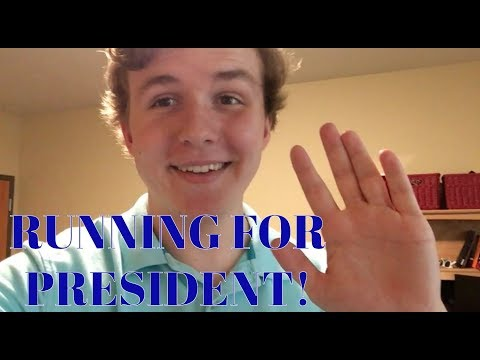 Running for Class President at Washington University in St. Louis!
